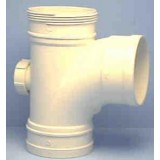 Pipe 100mmx 88Deg Junction DWV Plain Female Female pk1