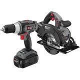 Kit 18V Drill Driver and Circular Saw 0615990FL9 pk1
