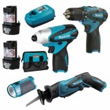 Kit 10.8V Driver Drill/Impact/Saw with Accessory DK1207 pk1