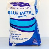 Blue Metal 10mm 20kg Bag BLU10 pk1