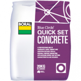 Concrete Quick Set 20kg B271 pk1