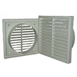 Duct Outlet Grill 125mm Louvre 1681 pk1