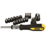 Screwdriver Set Ratchet 29 pieces 54.925 pk1
