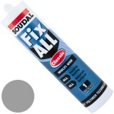 Adhesive Fixall Grey 290ml 101454 pk1