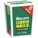 Adhesive Liquid Nails 320g LN6320G pk6