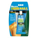 Adhesive Liquid Nails Clear   80g LNC80G pk1