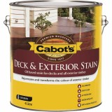 Deck and External Oil Stain Beach House Grey 4L pk1