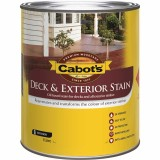Deck and External Oil Stain New Jarrah 1L 82665006 pk1