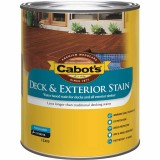 Deck and External Water Based Stain Merbau 1L 59282091 pk1