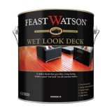 Deck and External Oil Water Based Wet Look 4L 563W0093 Feast Watso pk1