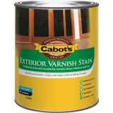 Deck and External Varnish Stain Teak 1L 52582150 pk1
