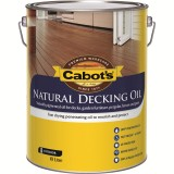 Deck and External Oil Finish Merbau 10L 83982173 pk1