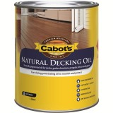 Deck and External Oil Finish Natural  1L 83982170 pk1