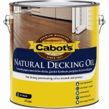 Deck and External Oil Finish Natural  4L 83982170 pk1