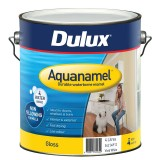 Paint Aquanamel Gloss White  4L 54204912 pk1