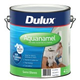 Paint Aquanamel Semi Gloss White  4L 53504912 pk1