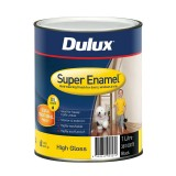 Paint Super Enamel High Gloss Black 1L 38100070 pk1