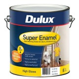 Paint Super Enamel High Gloss White  4L 38104912 pk1