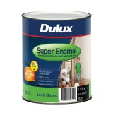 Paint Super Enamel Semi Gloss Black 1L 37800070 pk1