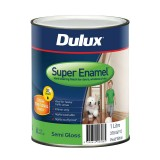 Paint Super Enamel Semi Gloss White  1L 37804912 pk1