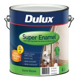 Paint Super Enamel Semi Gloss White  4L 37804912 pk1