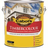 Paint Timbercolour Low Sheen White  4L 54094500 pk1