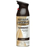 Paint Universal Hammered 312g Black pk1