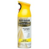 Paint Universal Paint&Prime 340g Canary Yellow RO245213 Rust pk1