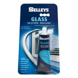 Sealant Silicone Glass Clear   75g GC75G pk1