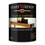 Stain and Varnish Satin Liming White 1L pk1