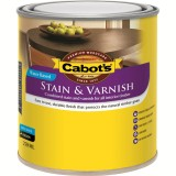Stain and Varnish Water Based Walnut Satin   250ml pk1