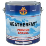 Weatherfast Marine Enamel White High Gloss 4L N8000 pk1