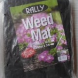 Weed Mat Control Black 1830mm 448776 rl50m