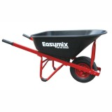 Wheel Barrow Red Poly Tray pk1