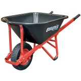 Wheel Barrow Red Steel Tray pk1