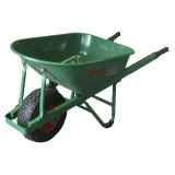 Wheel Barrow Builders Green Steel Tray pk1