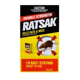 Pesticide Ratsak Double Strength 350g pk1