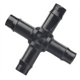 Pipe  13mm Cross Barbed 1011059B pk1