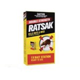 Pesticide Ratsak Double Strength 250g pk1