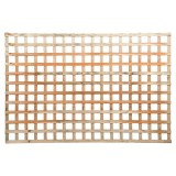 Lattice Roundedge Diagonal 2.4x1.2m Treated Pine pk1