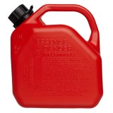 Jerry Can  5L with Nozzle Red Plastic AB5/07781 pk1