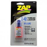 Sealer Threadlocker Zap Blue Z-42 6ml Pt-42 pk1