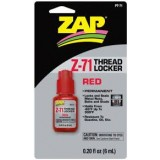 Sealer Threadlocker Zap Red Z-71 6ml Pt-71 pk1