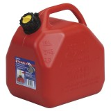 Jerry Can 10L with Nozzle Red Plastic AB10/07779 pk1