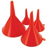 Funnel Plastic Set 4 pieces 50-120mm 190-30-62584 pk4