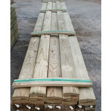 Fence Capping H3 Peak and Groove 120x35mm 5.4m pk1